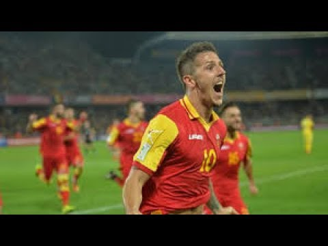 MONTENEGRO 4-1 ARMENIA 2018 FIFA World Cup Qualifiers - All Goals