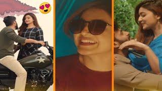 Full Screen Romantic Love Song Whatsapp Status 💕 | Shades_of_kadhal 💕 | Aagayam Theeyagave 💕 |