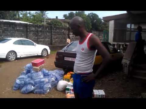Ebola: Quarantine in Crab Town Freetown