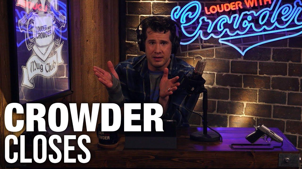 CROWDER CLOSES: