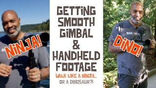 How to get smooth gimbal and handheld footage | Made On Mobile TV