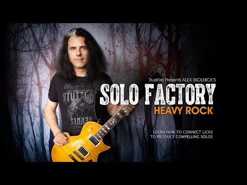 Alex Skolnick's Solo Factory: Heavy Rock - Intro - Guitar Lessons