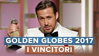 GOLDEN GLOBES 2017: I VINCITORI!