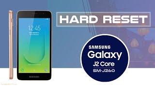 Hard Reset SAMSUNG GALAXY J2 CORE SM-J260   Factoey Reset