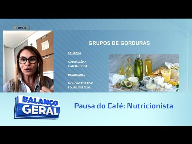 Pausa do Café: Nutricionista