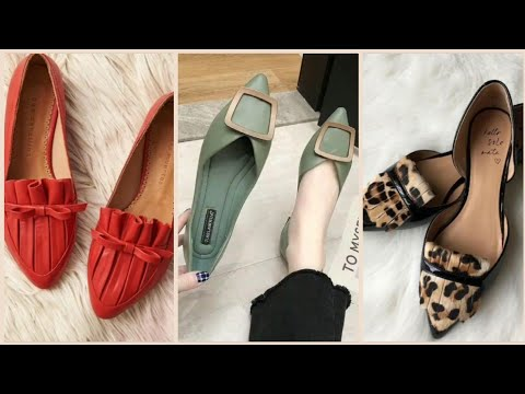 best-stylish-ladies-flat-pumps-shoes-designs-in-2020/unique-stylish-shoes-for-girls-styles-2020!