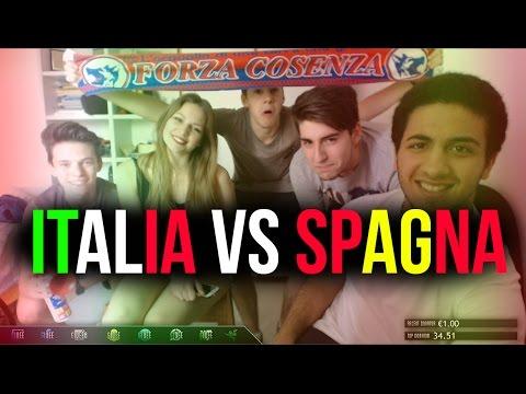 ITALIA VS SPAGNA - LIVE CON AMICHETTI!