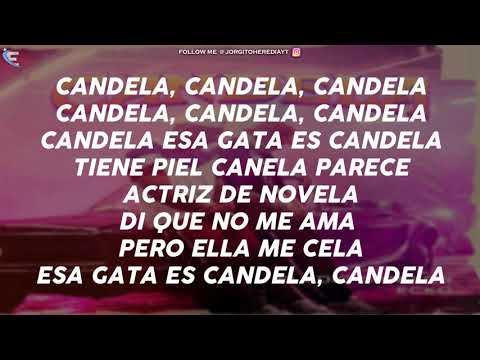 Eladio Carrion Ft Ecko - Candela (LETRA)