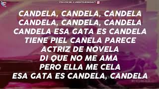 Eladio Carrion Ft Ecko - Candela (LETRA)