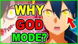 What is Kirito God Mode? Why Do Kirito Eyes Turn Yellow?  | Sword Art Online Alicization