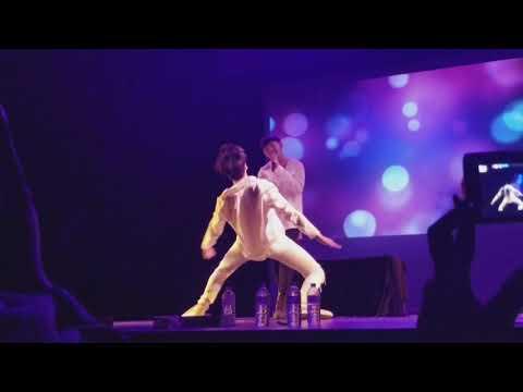 "JJCC -  ""Chandelier""  cover by Zica & Simba dancing ( in Miami 8/16/17)"