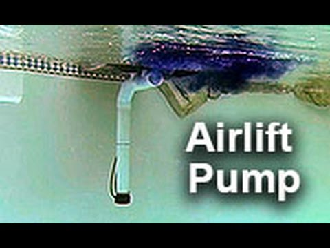Airlift Water Pump By Natural Current Pool Pond Filter