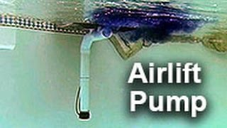 Airlift Water Pump by Natural Current - Pool Pond Filter Pump System