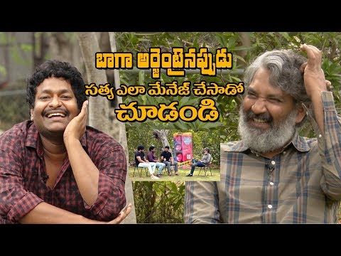 I couldn''t hold myself, went up & did it secretly: Comedian Sathya | Mathu Vadalara Team Interview