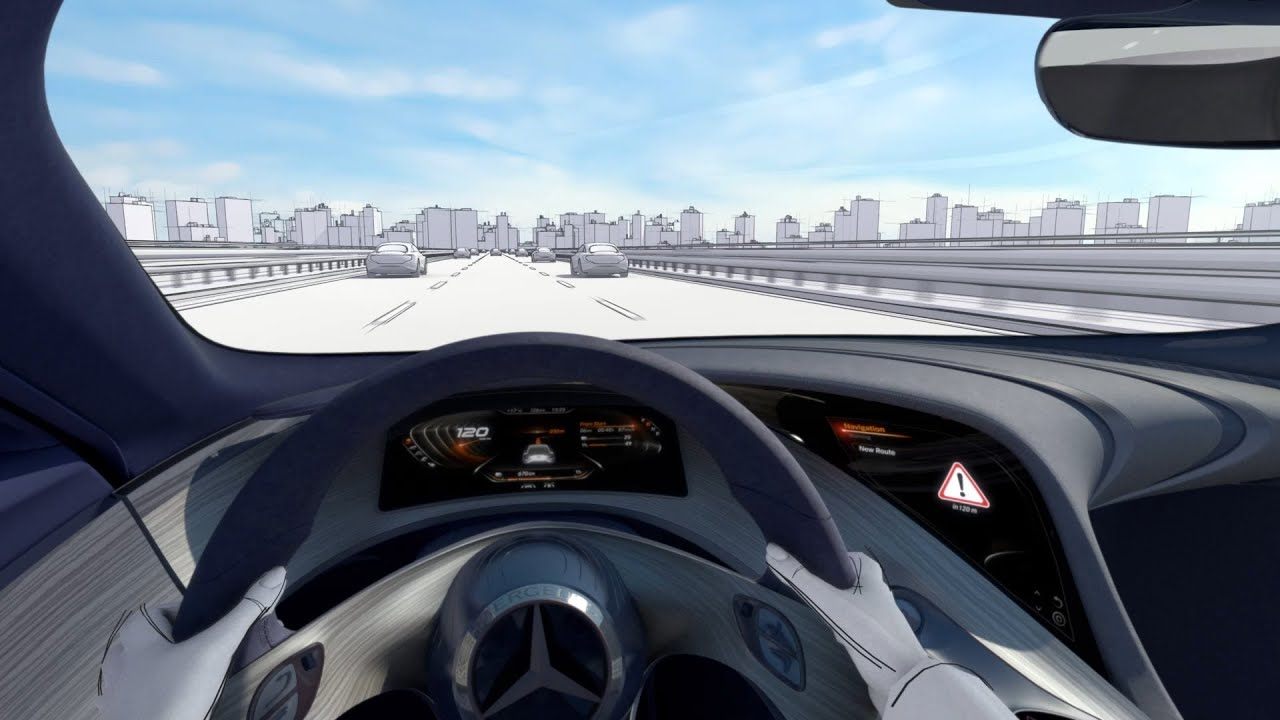 The new car to x technology mercedes benz original youtube for Mercedes benz latest technology