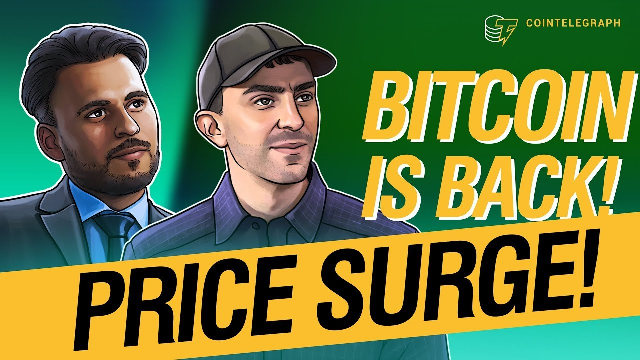 Bitcoin Is Back! Price Surge! Naaem Aslam & Tone Vays about Bitcoin