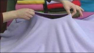 No-Sew Fleece Ponchos : Cutting the Neck Hole for a Child's