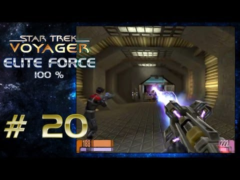 Let's Play Star Trek Voyager Elite Force - Part 20 (german) (mit julina84) - Robotus Arachnus