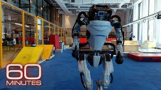 Rare access inside Boston Dynamics' robotics workshop