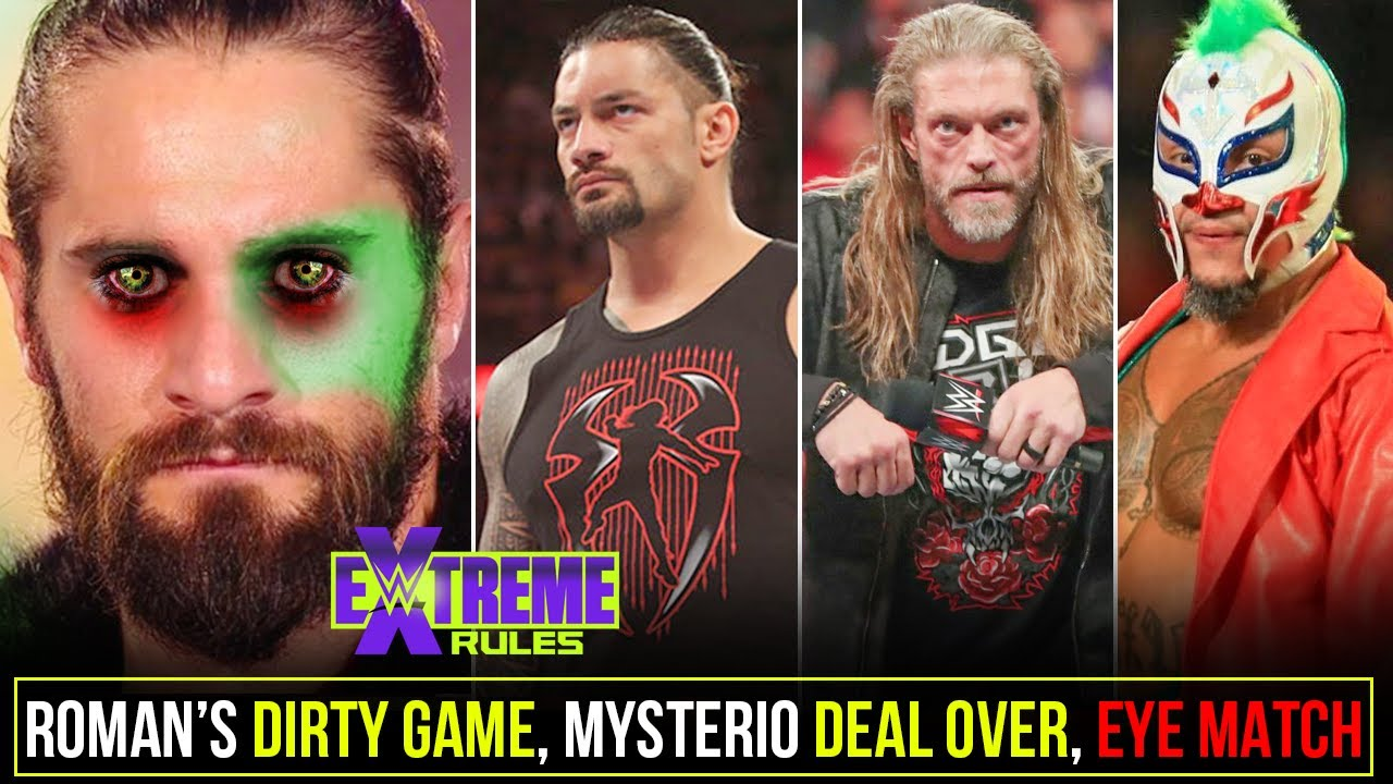 First-Ever WWE Eye Match😲, Roman's Dirty Game, Mysterio WWE Expired, Edge Big Shots, Extreme Rules