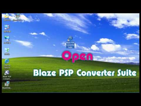 How to converter ASF to MP3 with Blaze PSP Converter Suite