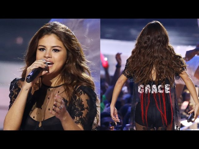 Selena Gomez Performs In SEXY Sheer Dress at We Day