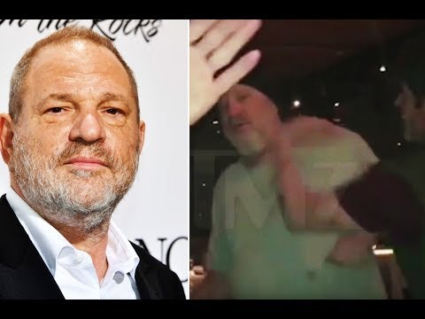 Harvey Weinstein Slapped In The Face (VIDEO)