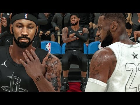 PG13 HATING ON BRIDGES IN ALL-STAR GAME vs LEBRON JAMES! NBA 2K18 My Career Gameplay Ep. 23