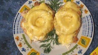 Отбивные с ананасом