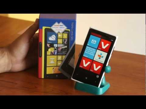 Unboxing y Review Nokia Lumia 920