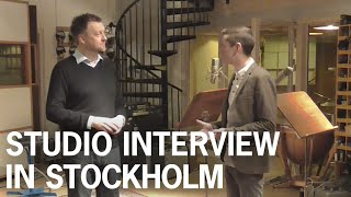 ABBA historian Carl Magnus Palm interview at Atlantis / Metronome Studio, Stockholm, Sweden