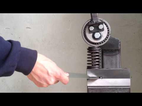 Ручная просечка металла