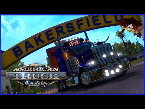 """Gear Jammin'""◆American Truck Simuator◆C2C Map,PB 389 Viper Triple Axle&More! #BuddaNation"