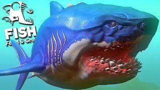 Feed and Grow Fish - Tubarão GIGANTESCO, MEGALODON ENCONTRADO!   (#29) (PT-BR)