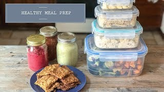 Meal PREP/ 2 HOUR for flexible, healthy recipes. #healthy #healthyfood #vegan