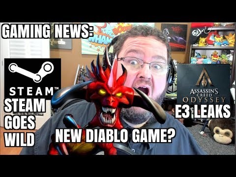 Gaming News: New Diablo game? Steam Goes Wild!  e3 Rumors and Leaks!