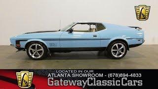 1971 Ford Mustang Mach 1 - Gateway Classic Cars of Atlanta #461
