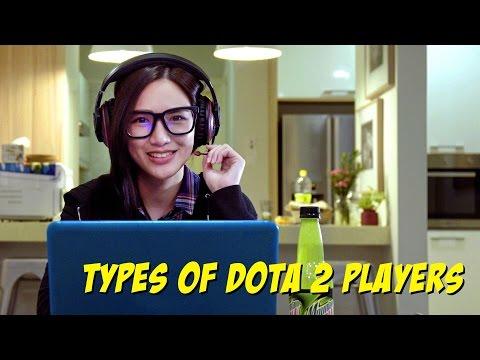 Types of Dota 2 Players - JinnyboyTV