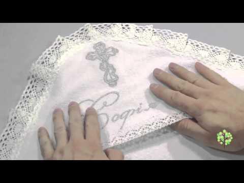 Крыжма именная для крещения