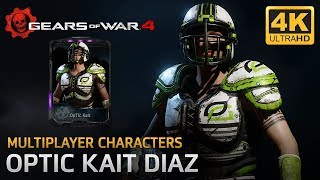 Gears of War 4 - Multiplayer Characters: OpTic Kait (Thrashball Kait OpTic Supporter)