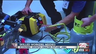 Skill workers needed as economic growth creates future jobs for Kern County
