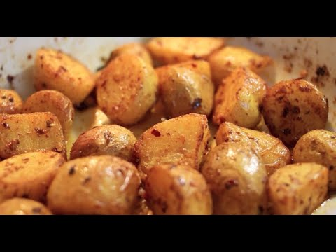 Harriet Emily: Chilli Roast Potatoes - Recipe featuring East End Foods