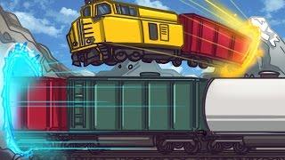 TELEPORTING TRAIN GLITCH! | GTA 5 Online Funny Moments