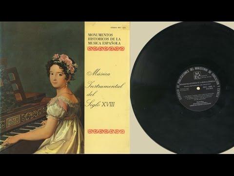 Cremilde Rosado & Santiago Kastner (clavichords) Música Instrumental del Siglo XVIII