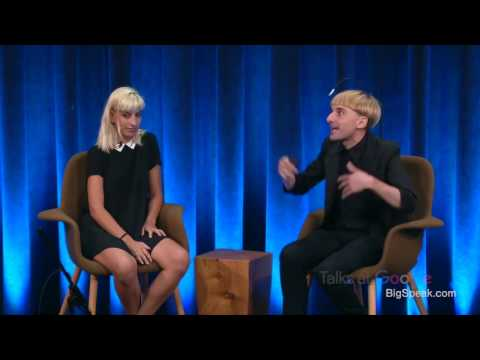 Moon Ribas and Neil Harbisson - What's it like to be a cyborg, Talks at Google