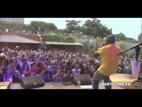 BARRINGTON LEVY at Glazart Paris - 2 JUILLET 2012 by Partytime.fr