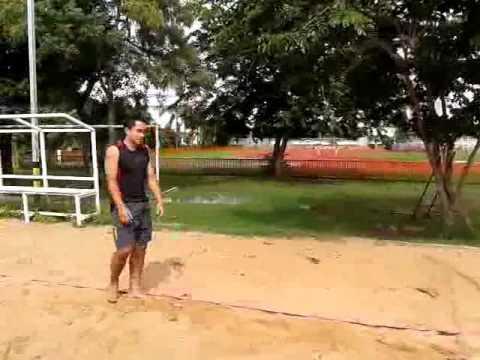 ทักษะการเล่นวอลเลย์บอลชายหาด beet