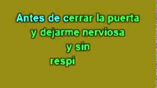 Gloria Trevi   No Querías Lastimarme karaoke