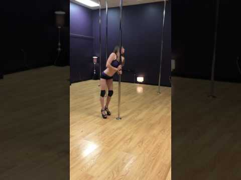 Floorwork and spin pole routine- Lil Darlin by ZZ Ward