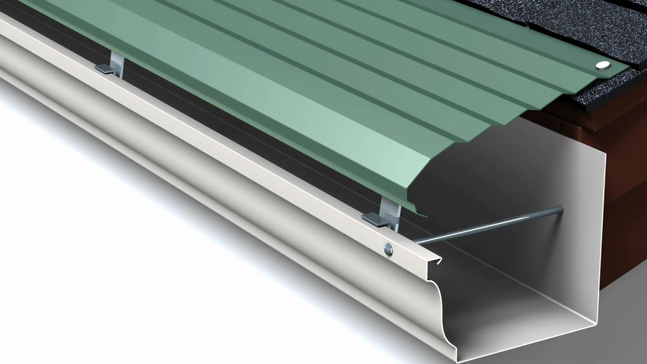 Types of Rain Gutters and Sizes | LeafGuard